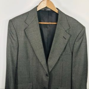 Stafford - Houndstooth - 2 Button Sport Coat 40R